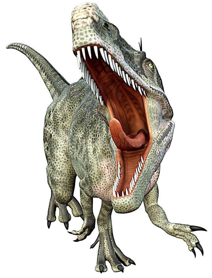 szturmowy monolophosaurus ilustracji