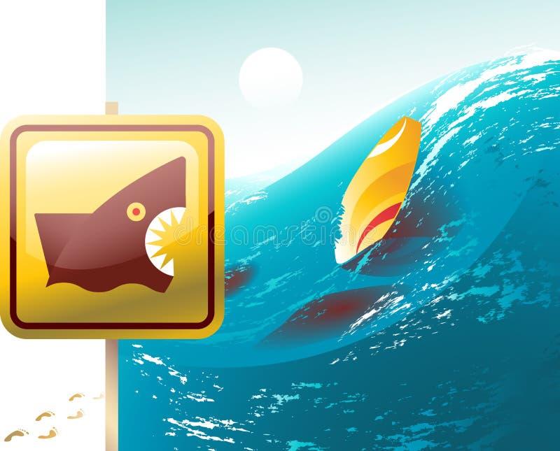 szturmowy rekin ilustracji