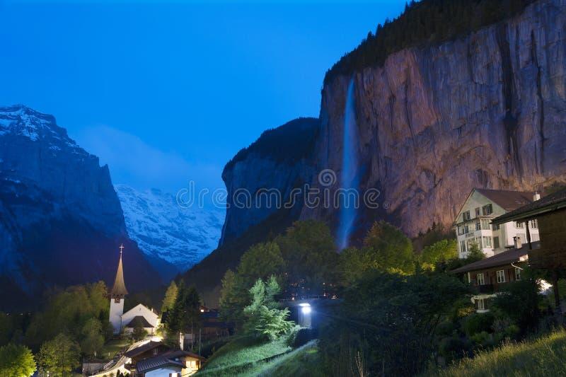 Szwajcara krajobraz fotografia royalty free