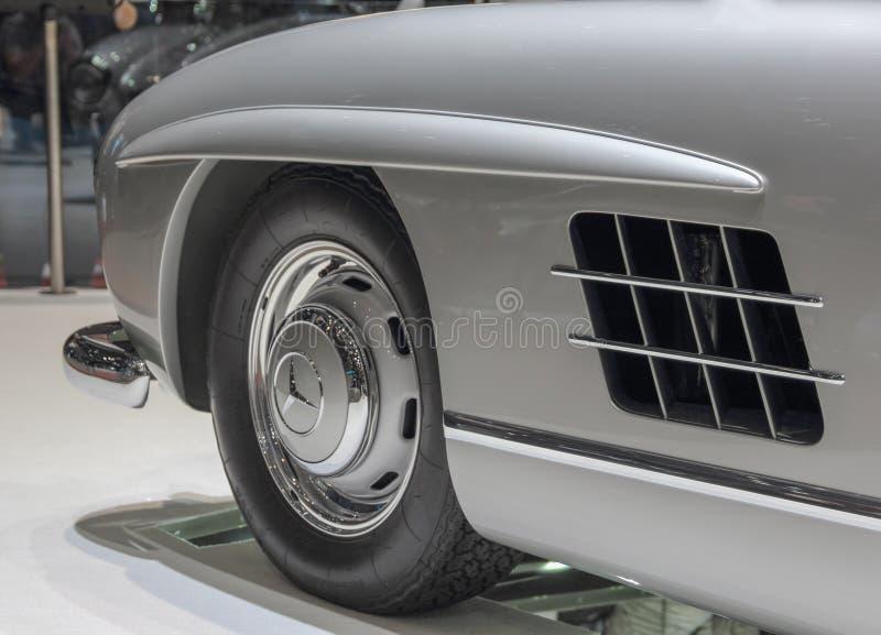 Szwajcaria; Genewa; Marzec 9, 2019; Brabus klasyk, Mercedes-Benz 300 SL; 89th Mi?dzynarodowy Motorowy przedstawienie w Genewa od  fotografia stock