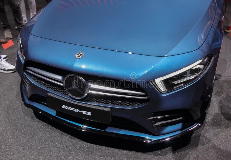 Szwajcaria; Genewa; Marzec 9, 2019; Mercedes-Benz AMG; 89th Międzynarodowy Motorowy przedstawienie w Genewa od 7th 17th Marzec, 2 obraz stock