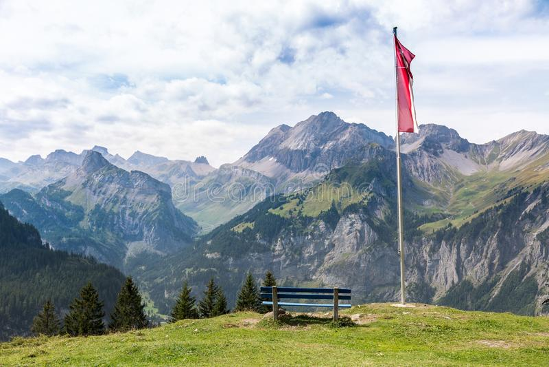 Szwajcaria widoki fotografia royalty free