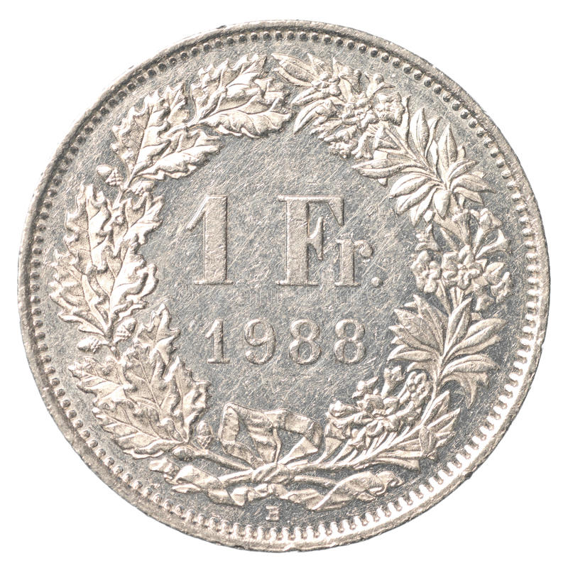 1 Szwajcarski frank moneta