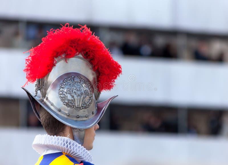 Szwajcarski strażnik fotografia royalty free