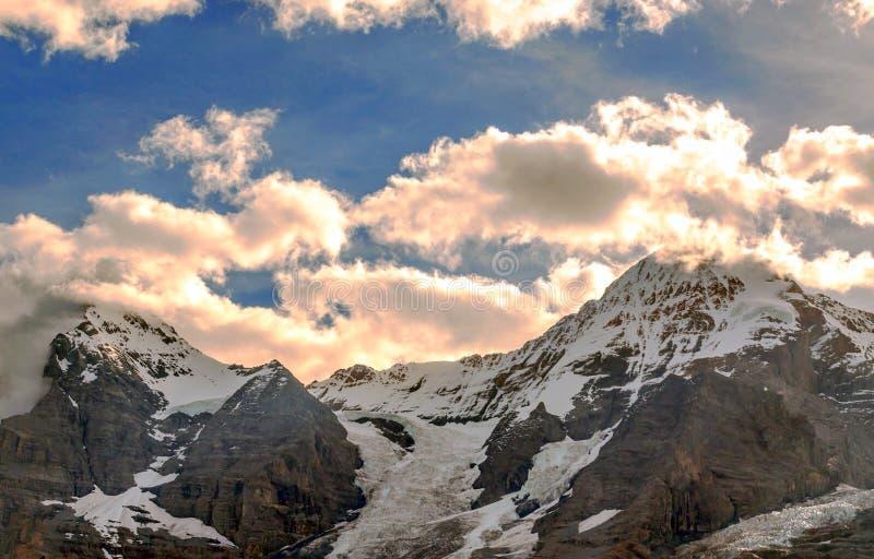 szwajcarskie alps góry zdjęcie royalty free