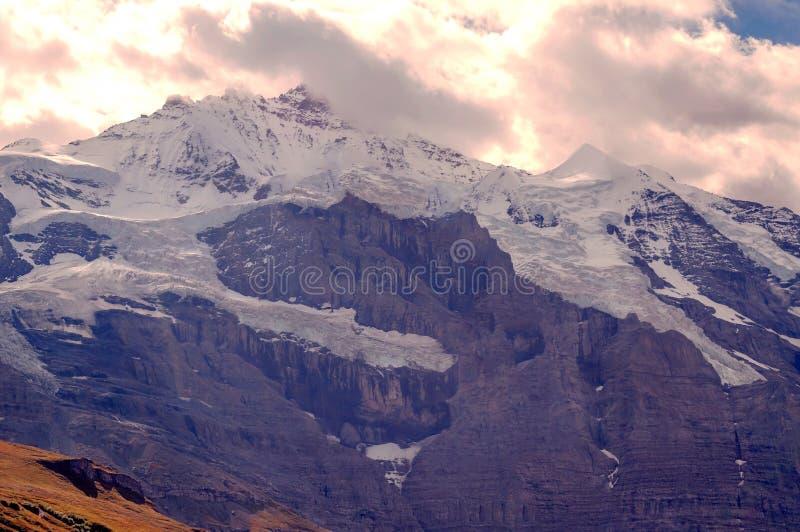 szwajcarskie alps góry fotografia royalty free