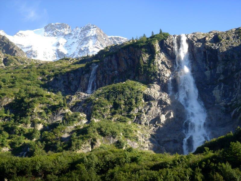 szwajcarskie siklawy zdjęcie royalty free