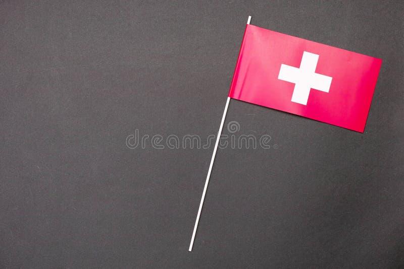 szwajcarzy bandery zdjęcia stock