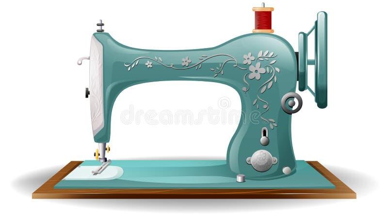 Szwalna maszyna royalty ilustracja