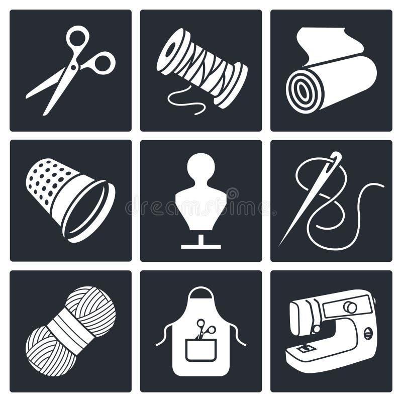 Download Szwalna Ubraniowej Manufaktury Ikony Kolekcja Ilustracji - Ilustracja złożonej z fabryka, arte: 42525544