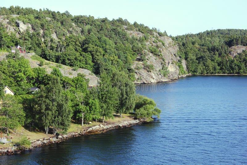Szwecja wyspa obrazy royalty free