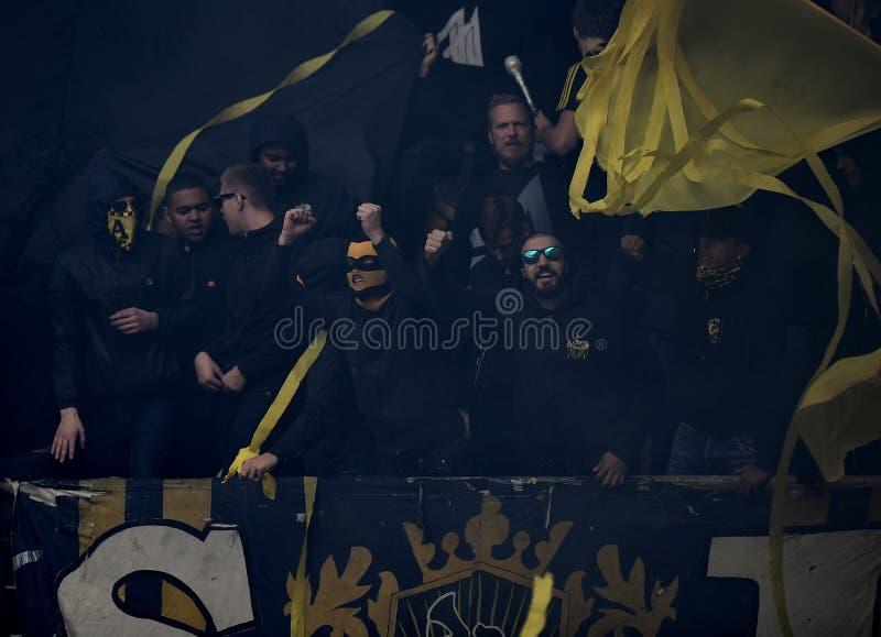Szwedów fan zdjęcie royalty free