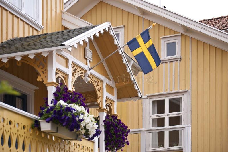 Szwedzi dom zdjęcie royalty free
