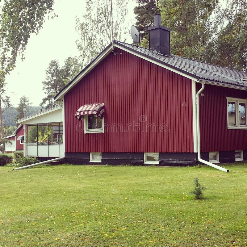 Szwedzi dom obrazy royalty free