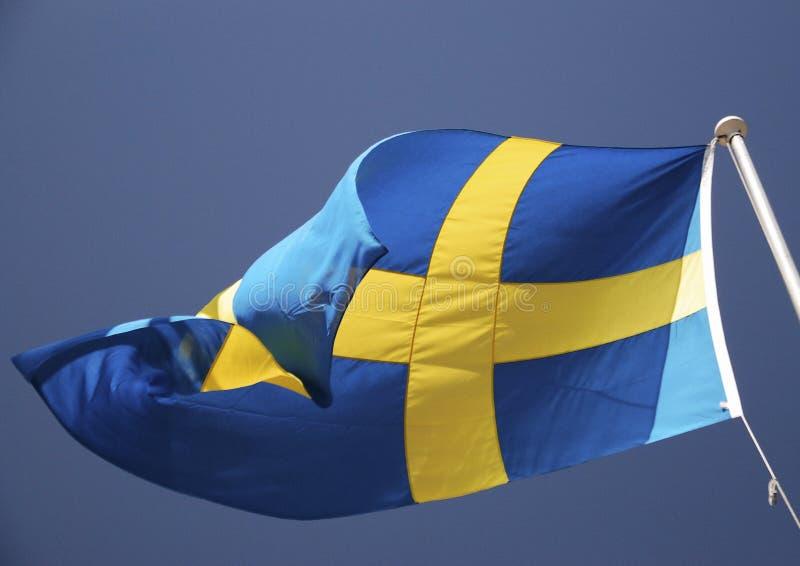 Szwedzi flaga obrazy stock