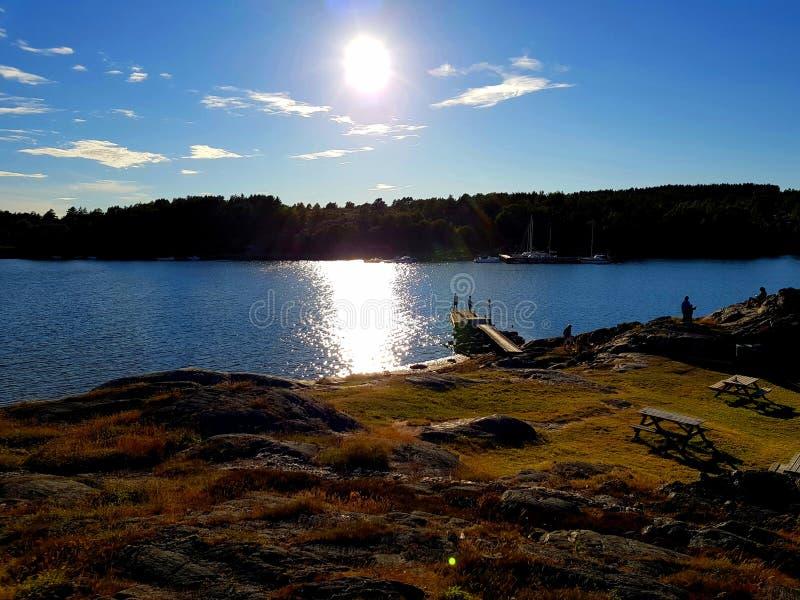 Szwedzi ziemia zdjęcia royalty free