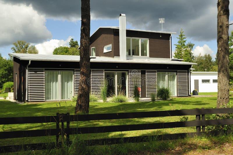 Szwedzki budynki mieszkalne obraz royalty free