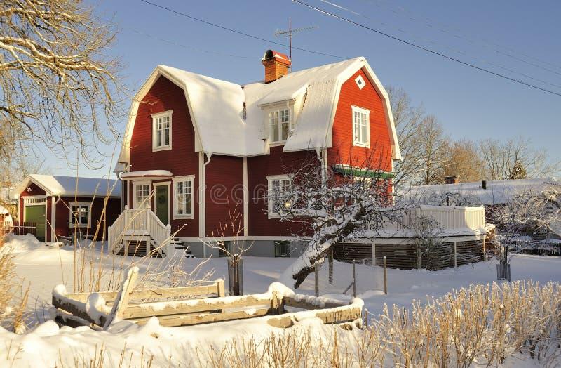 Download Szwedzki Budynki Mieszkalne Obraz Stock - Obraz złożonej z powierzchowność, plecy: 28960231
