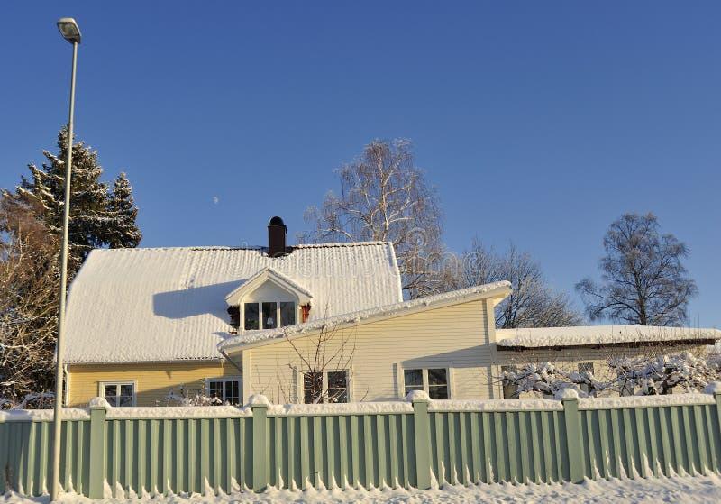 Download Szwedzki Budynki Mieszkalne Obraz Stock - Obraz złożonej z budynek, horyzontalny: 28960727