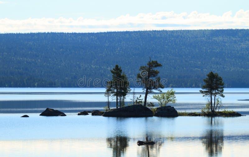 Szwedzki jezioro fotografia stock