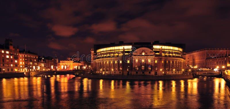 Szwedzki Parlament obraz royalty free