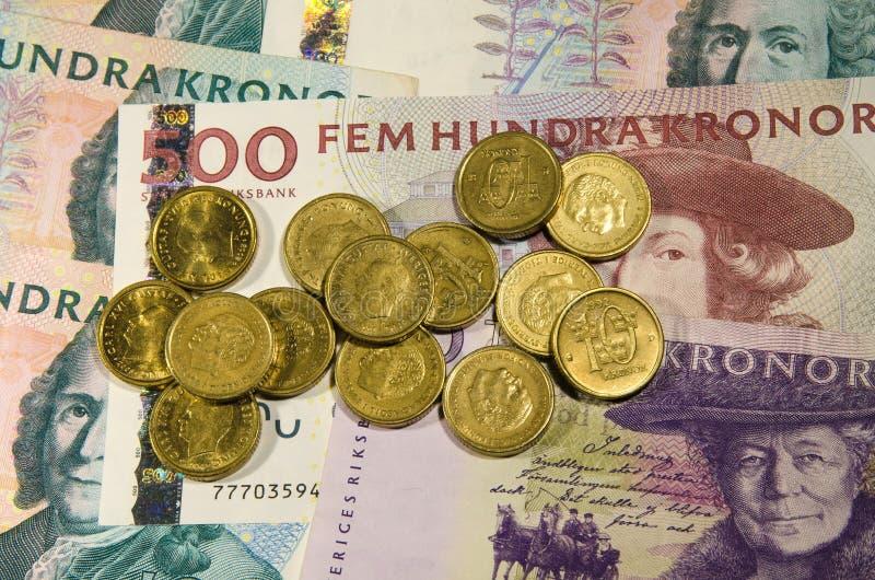 Szwedzki pieniądze zdjęcie stock
