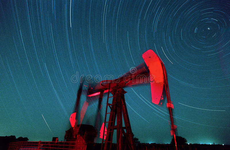szyb naftowy obrazy stock