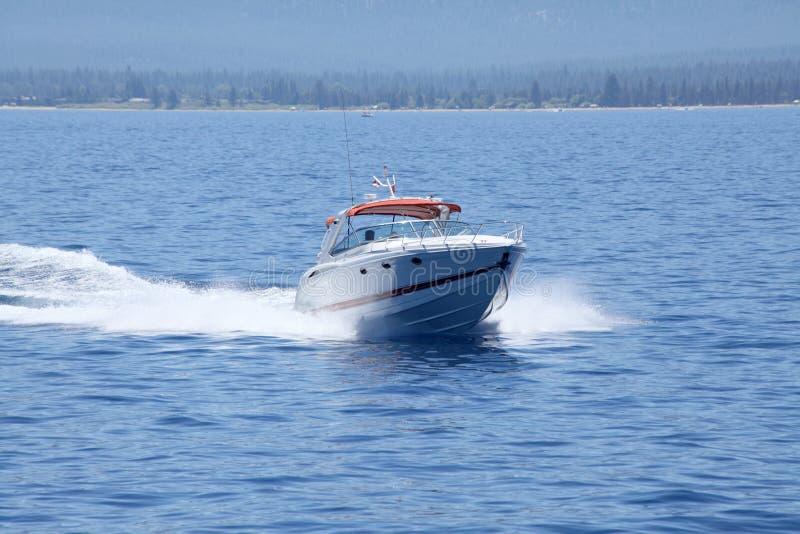 Szybka łódź fotografia royalty free