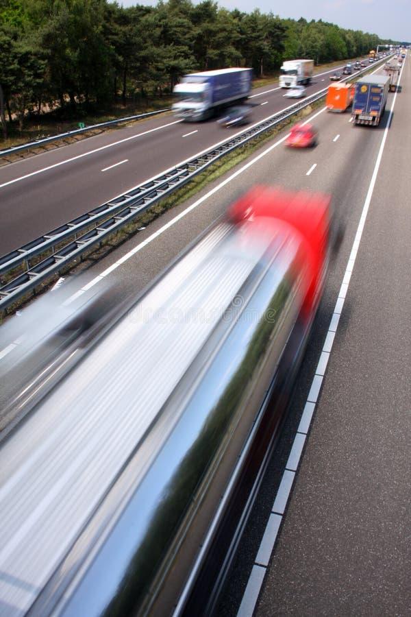szybka autostrada zdjęcia stock