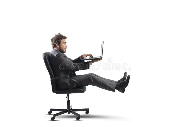 Szybki biznes obrazy stock