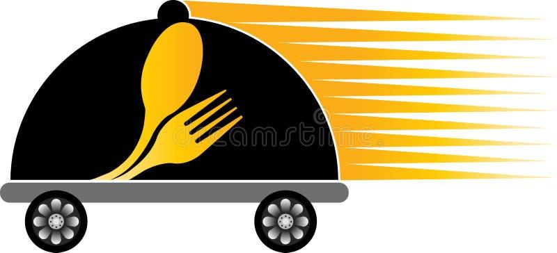 Szybki doręczeniowy kucharstwo ilustracja wektor