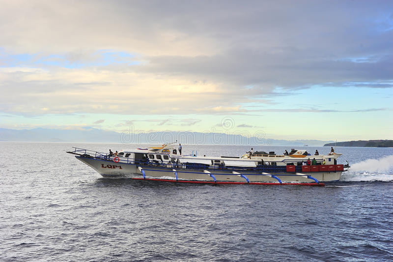 Szybki ferryboat obraz stock