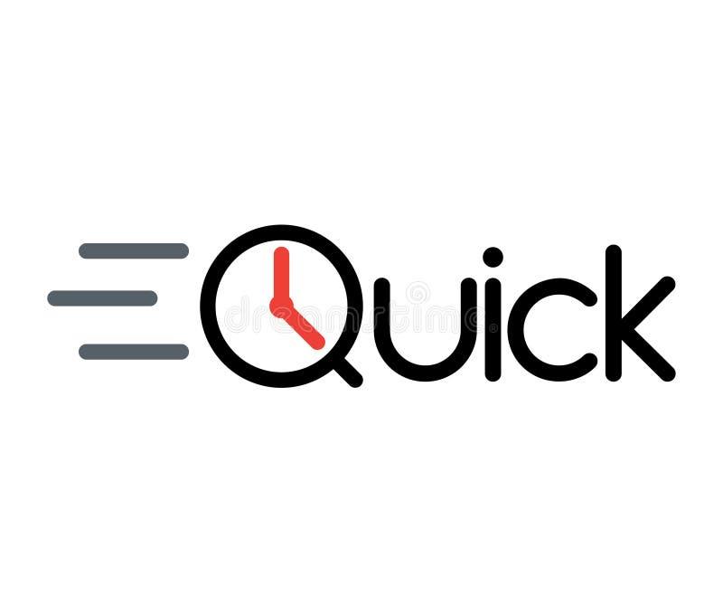 Szybki logo ilustracji
