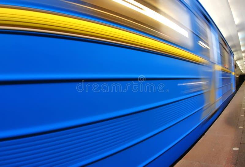 Szybki metro zdjęcia royalty free