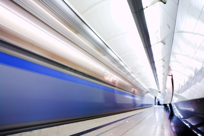 szybki metro obrazy royalty free