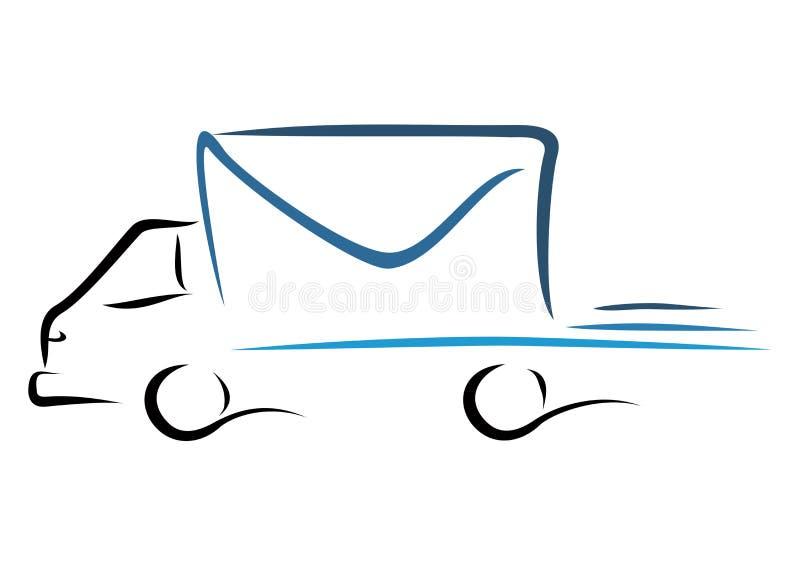 Szybki transport ilustracji