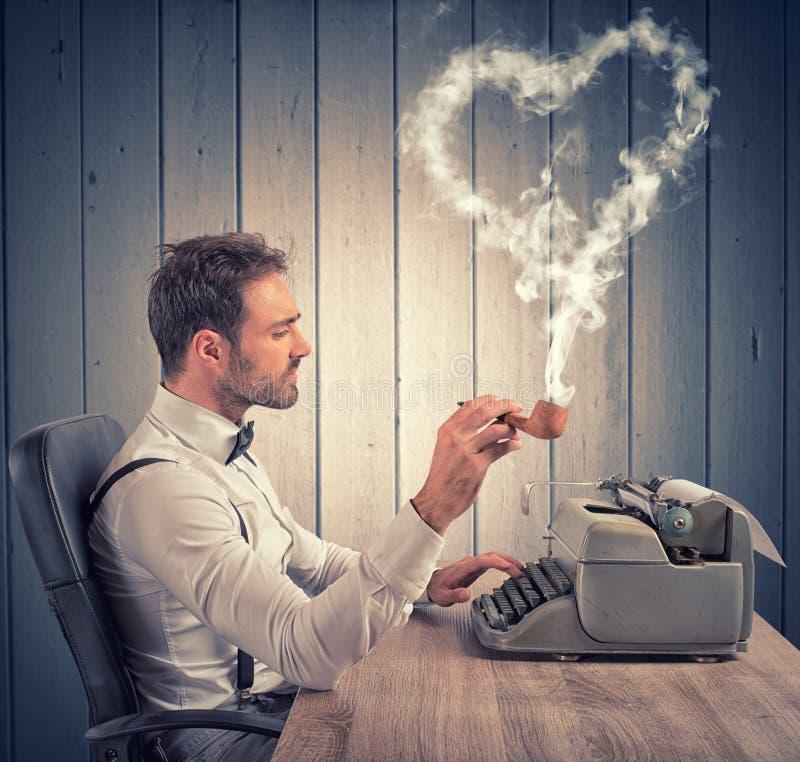 szybkie serce listu miłości obraz royalty free