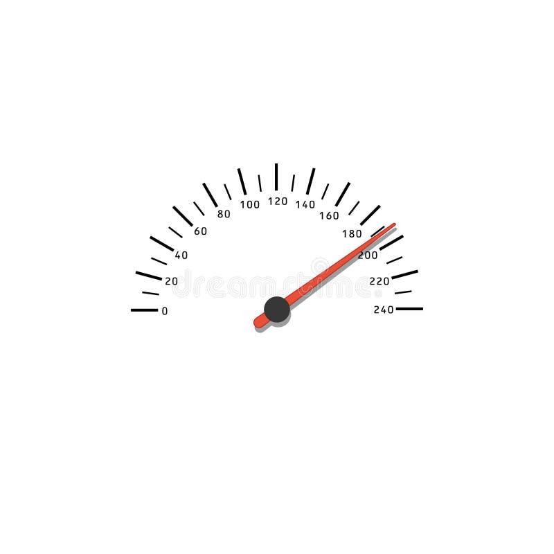 szybkościomierz royalty ilustracja