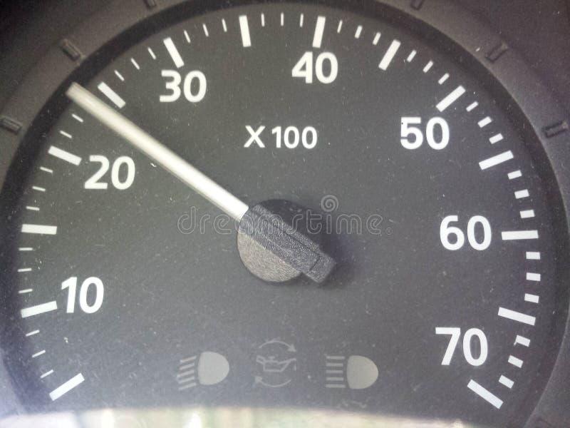 szybkościomierz zdjęcie stock