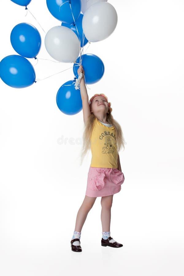 szybko się zwiększać dziewczyny małej obraz royalty free