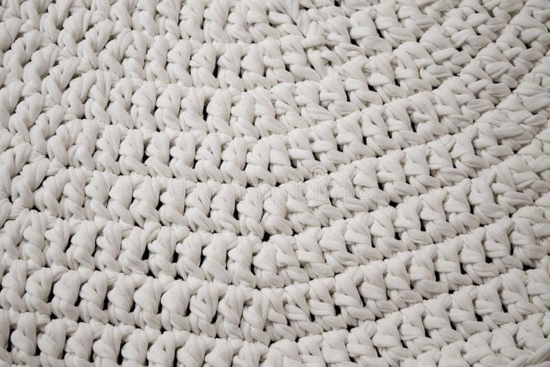 Szydełkujący dywanik, zamyka w górę widoku obrazy stock