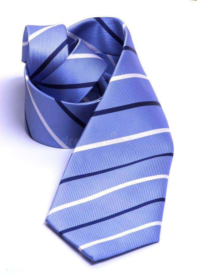 szyi krawat walcowane obraz stock