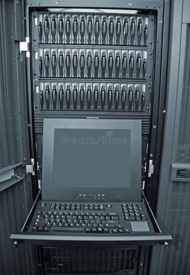 Szyk i Serwer Kontrola talerzowa Stacja zdjęcie stock