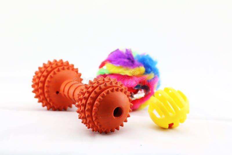 Szyk zwierzę domowe zabawki zdjęcie stock