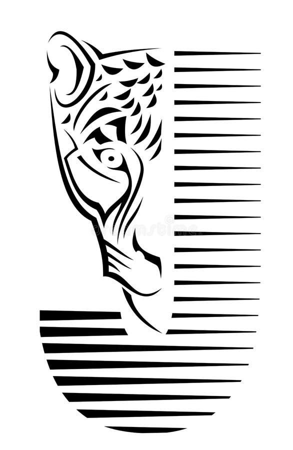 szyldowy żbik royalty ilustracja