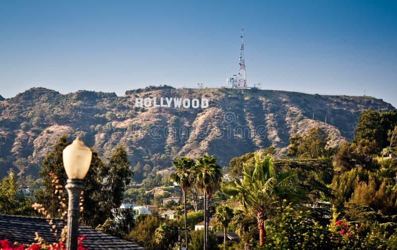 szyldowy Angeles widok Hollywood los zdjęcia royalty free