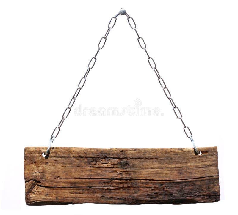 szyldowy drewno zdjęcia stock