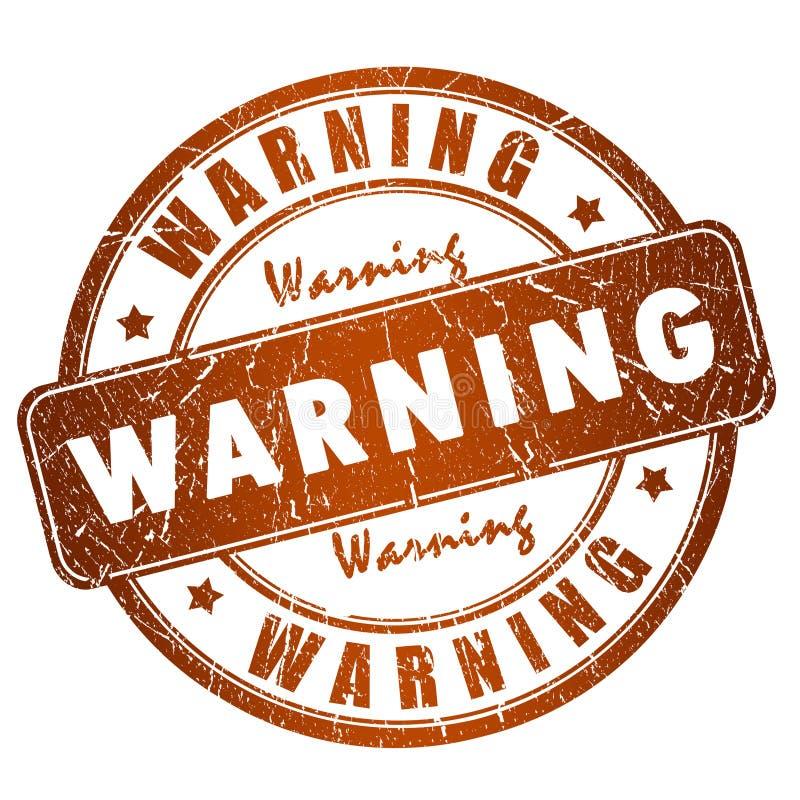 szyldowy ostrzeżenie ilustracji