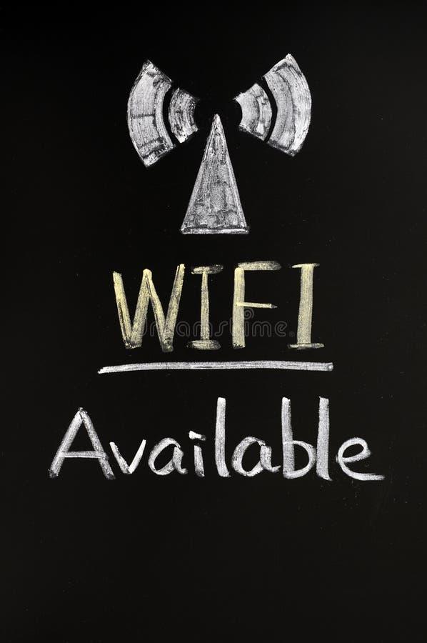 szyldowy sygnałowy wifi zdjęcie stock
