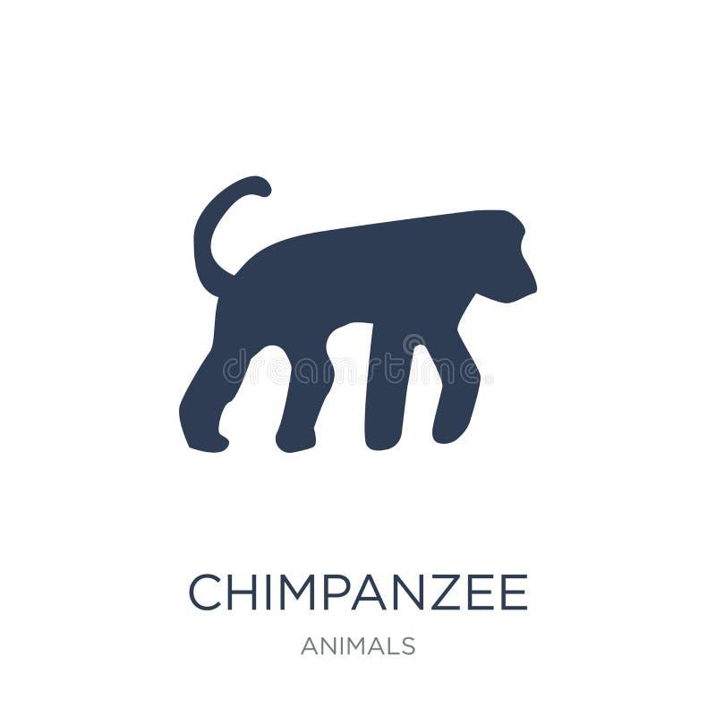 Szympans ikona  ilustracja wektor